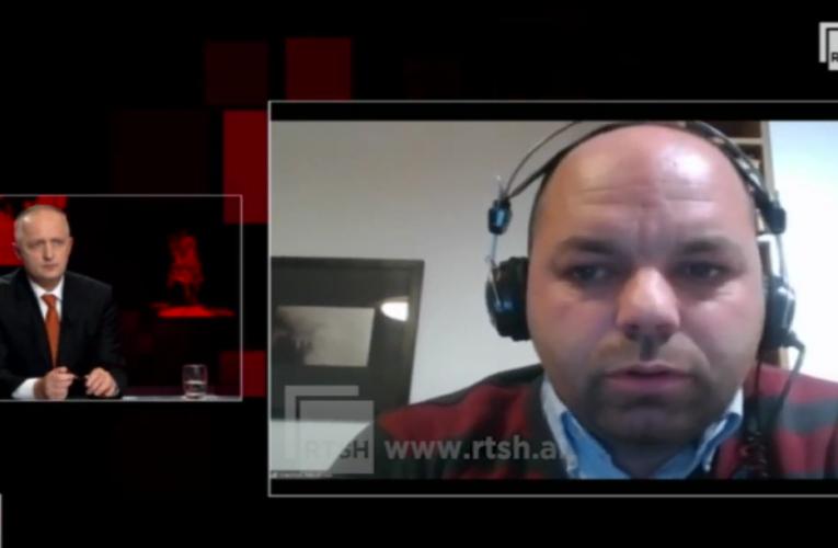 """Kreshnik Merxhani në """"Përballë"""" RTSH për kandidimin e tij në Gjirokastër dhe projektin e Lëvizjes VETËVENDOSJE! në Shqipëri"""